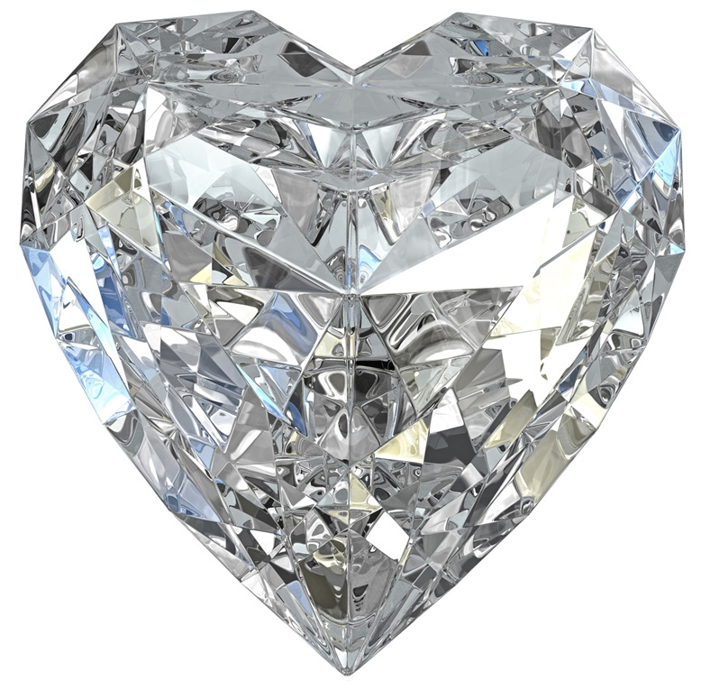 подвязывают кристаллические сердца с фотографиями картинки