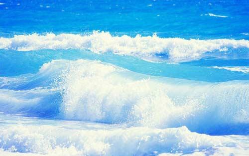 нежные волны