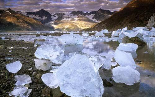 Прозрачные льдины