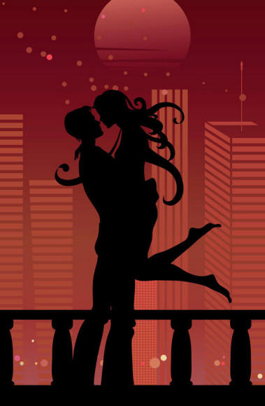 Картинки мужчина целует женщину