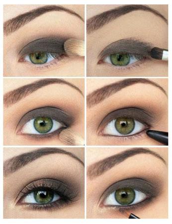 Как правильно сделать макияж голубых глаз