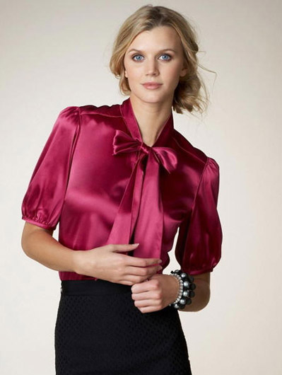 Блузка С Бантом Фото В Новосибирске