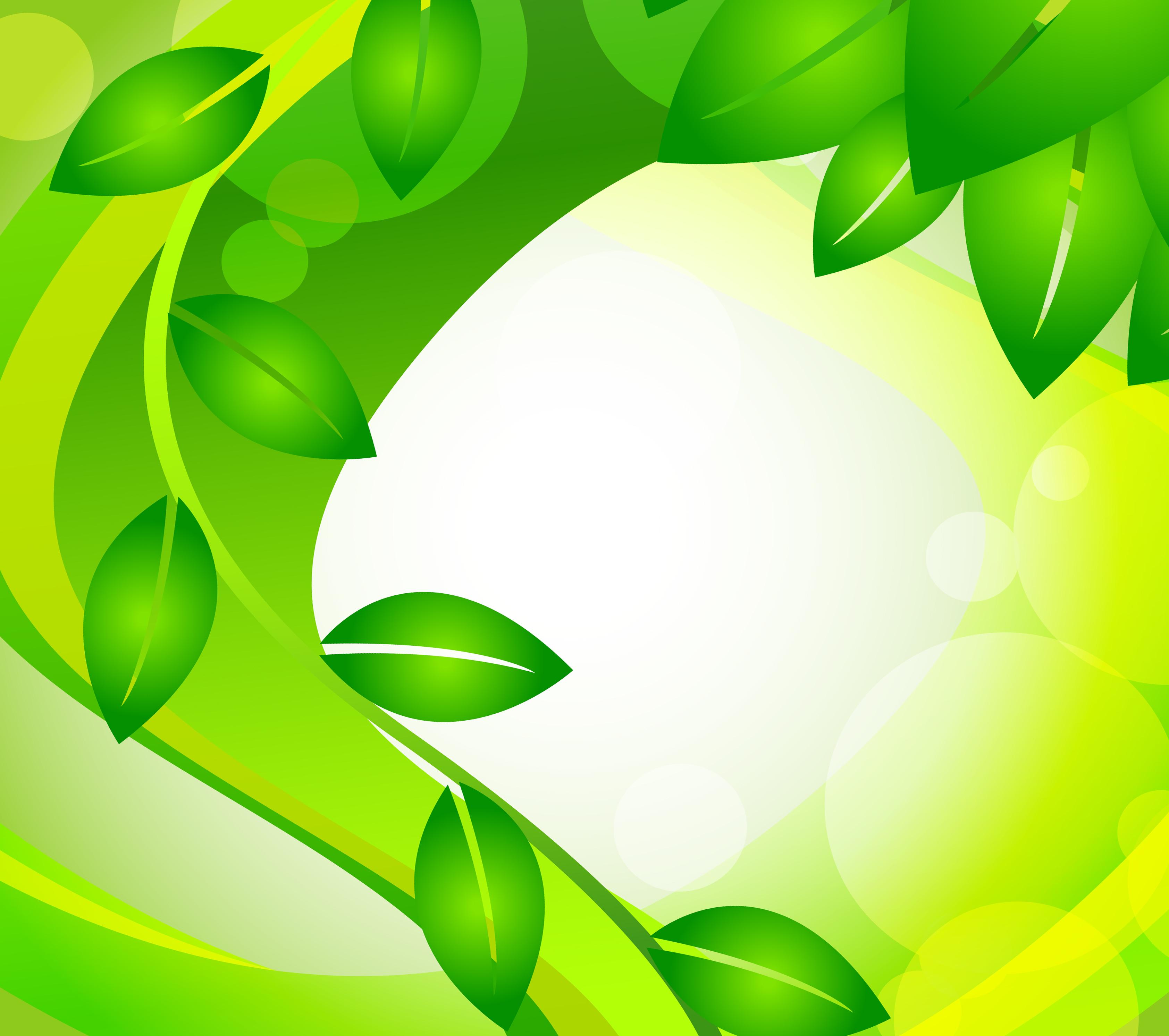 Зеленый фон для поздравления 54