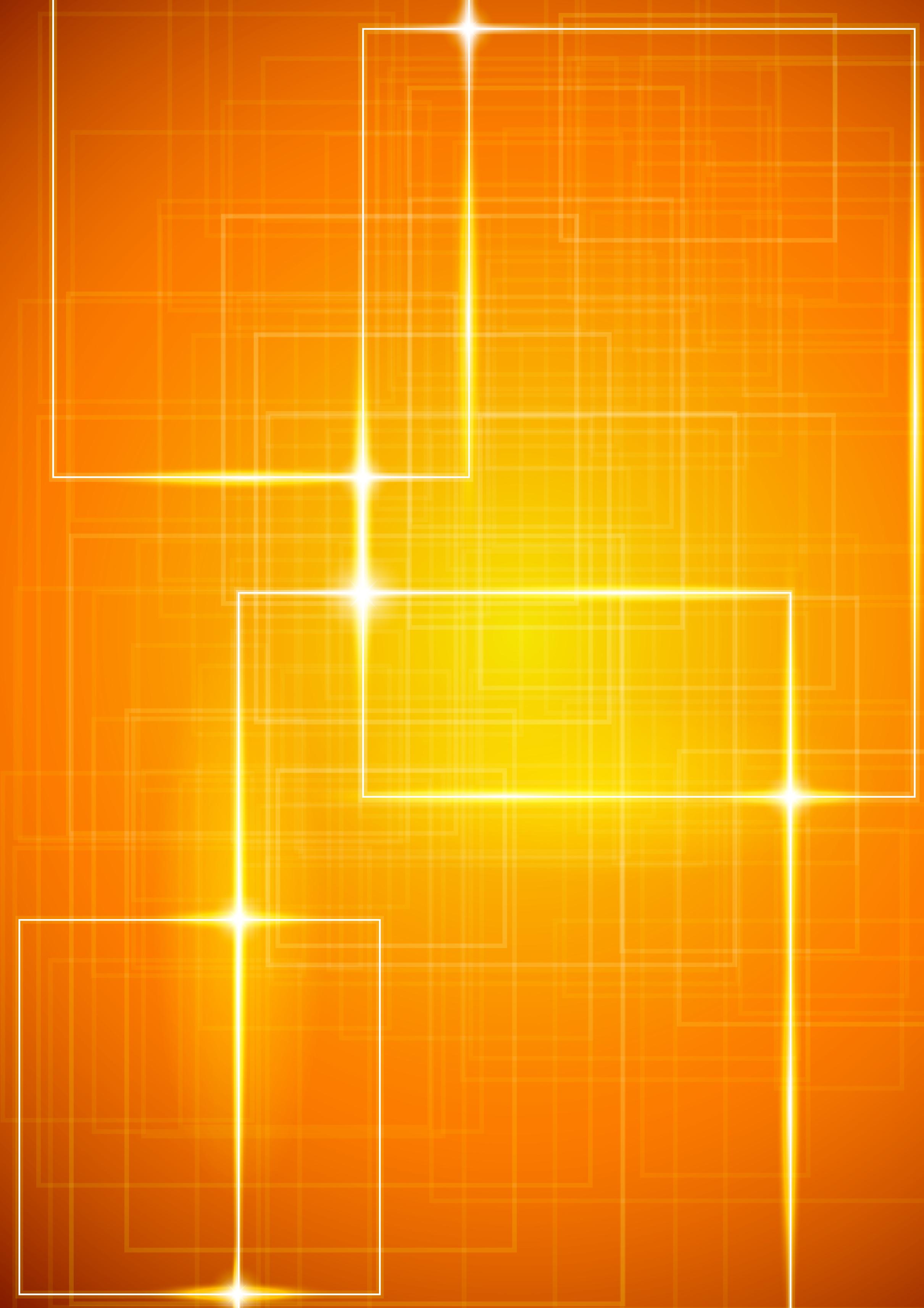 Геометрический фон желтый