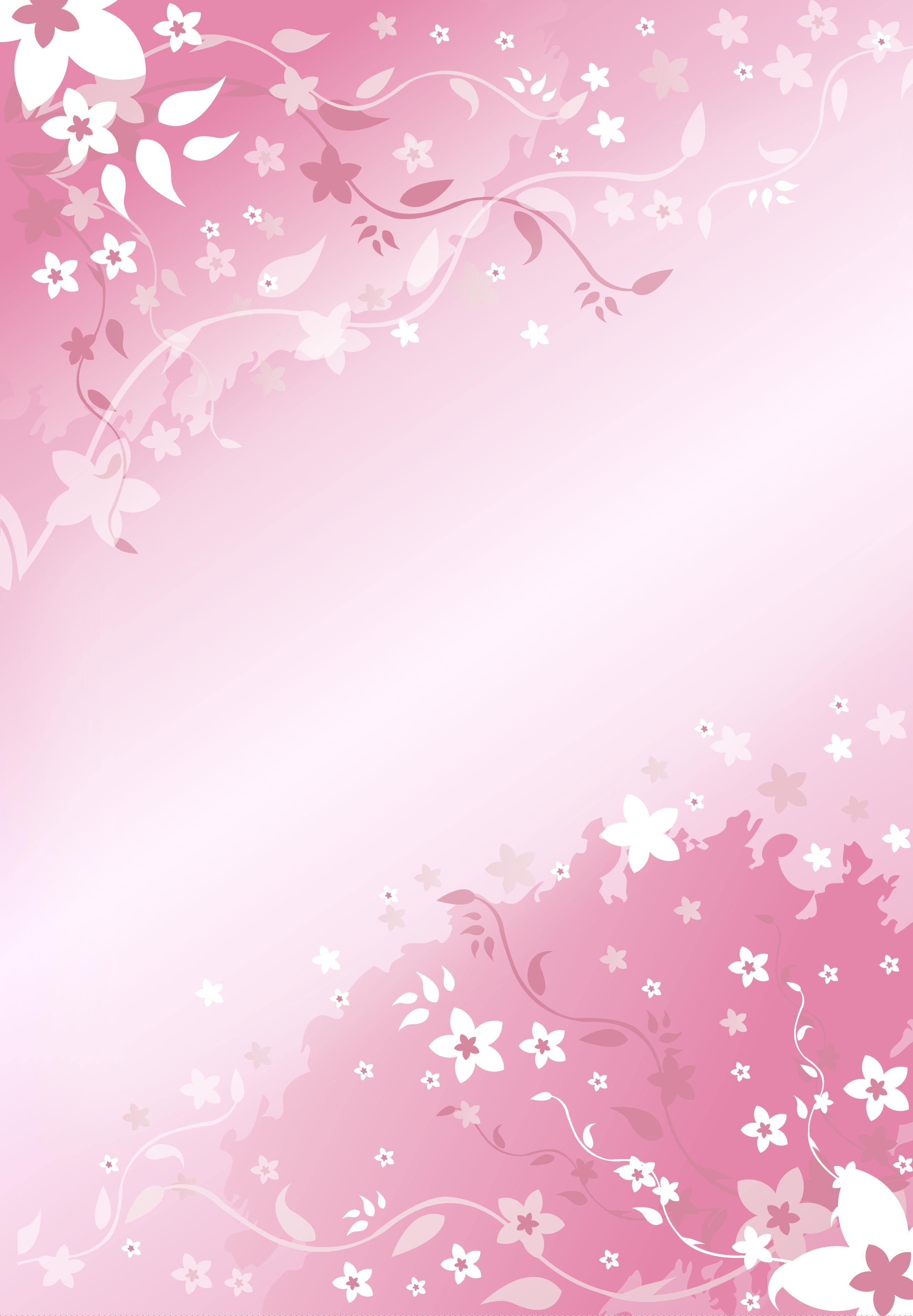 Красивый фон для открытки розовый 98