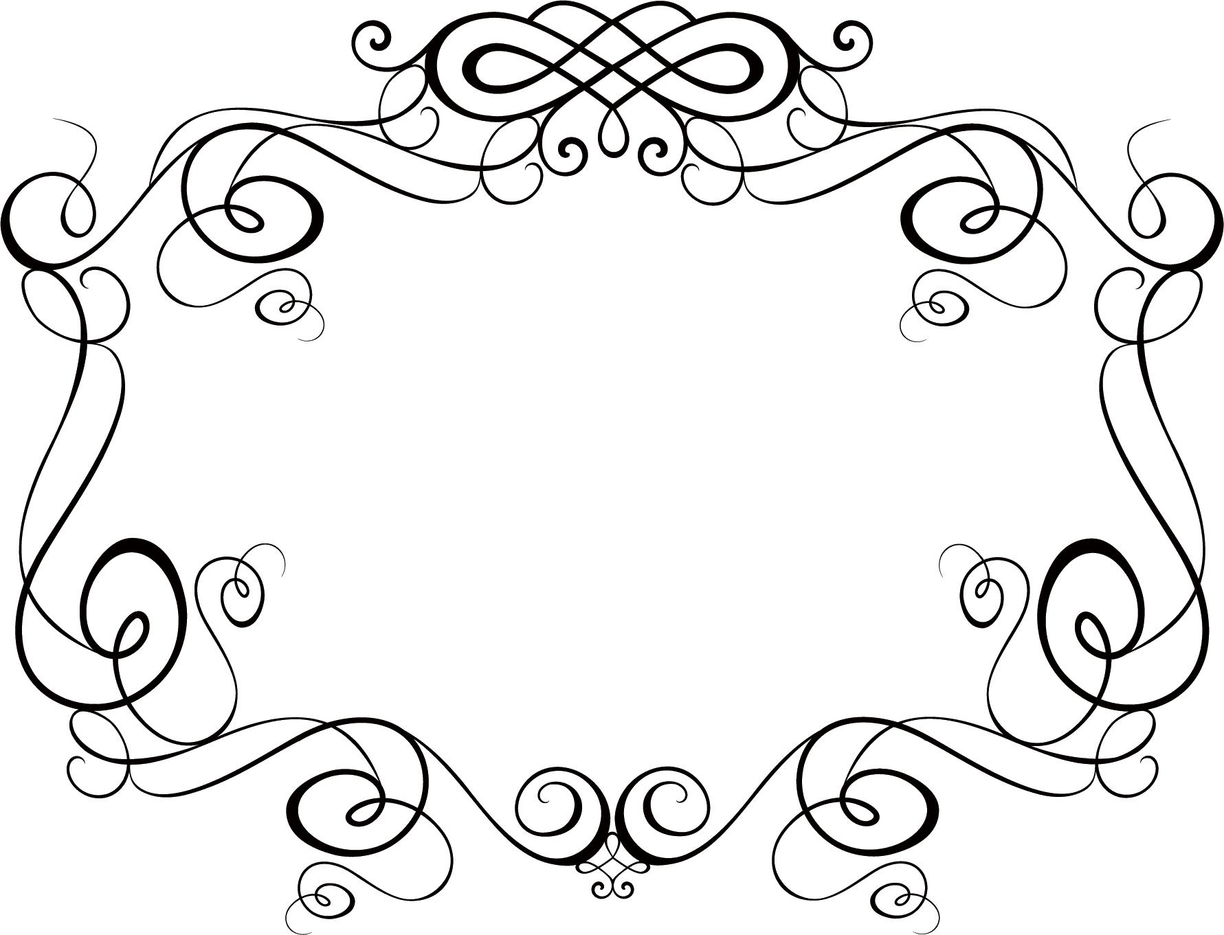 Как нарисовать красивый узор рамку
